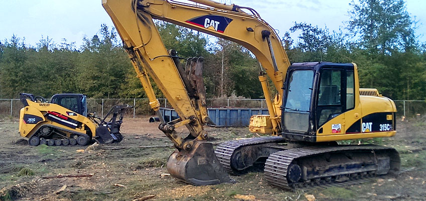 Cumberland's Heavy Equipment for Land Clearing and Mulching