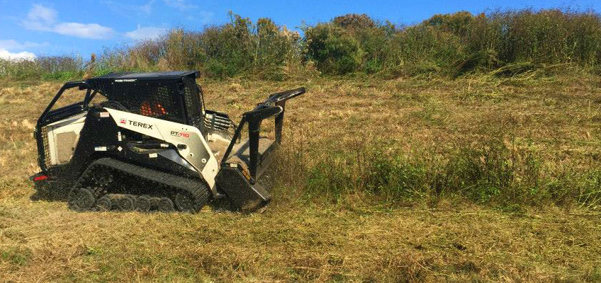 Cumberland Services uses professional grade equipment for land clearing