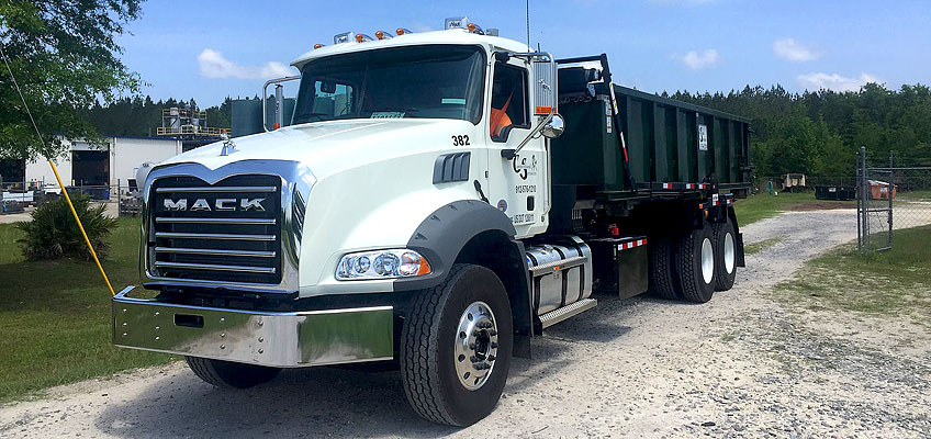 Cumberland Services roll out new Mack roll-off trucks