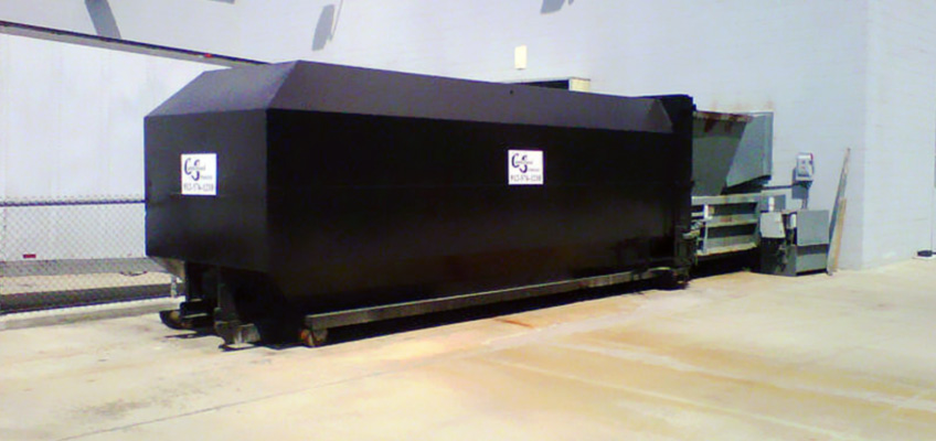 Cumberland Services Compactor Onsite