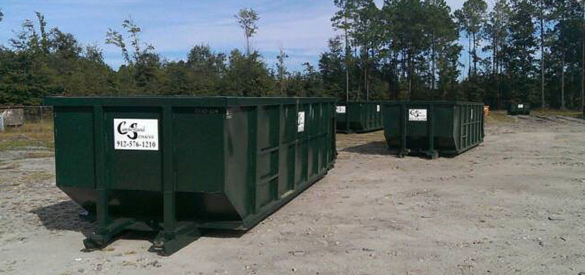 Berland Services Roll Off Containers