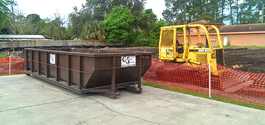 Berland Services Roll Off Containers For Commercial Construction