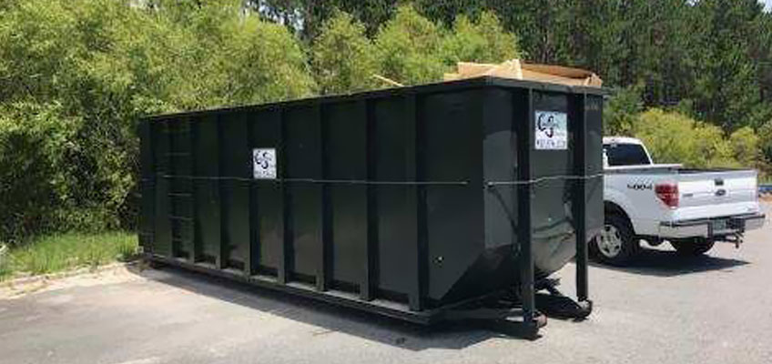 Cumberland Services Roll-off Container delivered direct to site